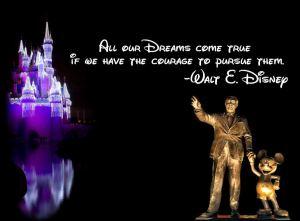disney dreams will come true quote